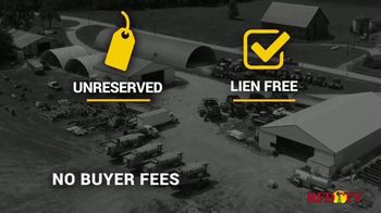 Big Iron Auctions TV Spot, 'Unreserved & No Buyer Fees' - Thumbnail 3