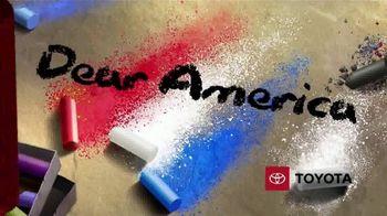 Toyota TV Spot, 'Dear America: Sanitation Workers' [T1] - Thumbnail 1