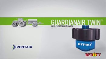 Pentair Hypro Guardian Air Twin TV Spot, 'Twin Pattern Spray' - Thumbnail 1