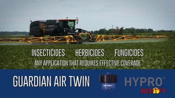 Pentair Hypro Guardian Air Twin TV Spot, 'Twin Pattern Spray' - Thumbnail 4