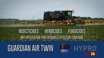 Pentair Hypro Guardian Air Twin TV Spot, 'Twin Pattern Spray' - Thumbnail 5