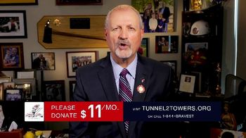 Stephen Siller Tunnel to Towers Foundation TV Spot, 'Frontline Workers'