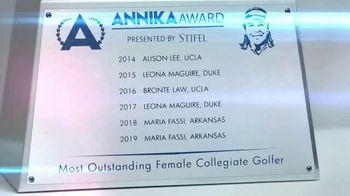 Annika Award TV Spot, 'Past Winners' Featuring Annika Sorenstam - Thumbnail 5