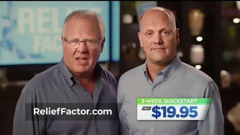 Relief Factor TV Commercial, 'Sleep Issues and Pain'