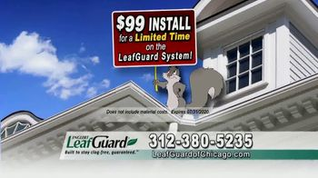 LeafGuard of Chicago $99 Install Sale TV Spot, 'Good Housekeeping Seal' - Thumbnail 5