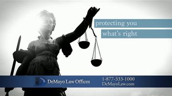Law Offices of Michael A. DeMayo TV Spot, 'Challenging Times' - Thumbnail 5