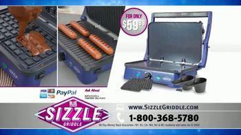 Blue Diamond Pan Sizzle Griddle TV Spot, 'The Secret Is the Sizzle: Party Plastic' - Thumbnail 8