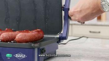 Blue Diamond Pan Sizzle Griddle TV Spot, 'The Secret Is the Sizzle: Party Plastic' - Thumbnail 3