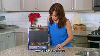 Blue Diamond Pan Sizzle Griddle TV Spot, 'The Secret Is the Sizzle: Party Plastic'