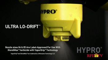 Pentair Hypro Ultra Lo-Drift TV Spot, 'Herbicide Applications' - Thumbnail 2