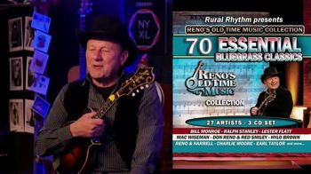 Reno's Old Time Music Essential Bluegrass Classics TV Spot, 'Popular Demand'