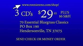 Reno's Old Time Music Essential Bluegrass Classics TV Spot, 'Popular Demand' - Thumbnail 9