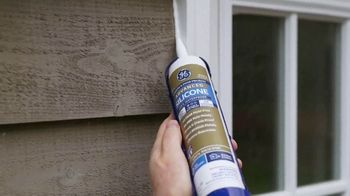 GE Silicone Caulk TV Spot, 'Stay Weather-Proofed Year Round' - Thumbnail 5
