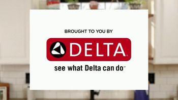 Delta Faucet TV Spot, 'DIY Network: Hard Working Kitchen' - Thumbnail 1