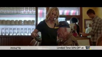 Jitterbug Flip TV Spot, 'Veteran Dad: 50%'