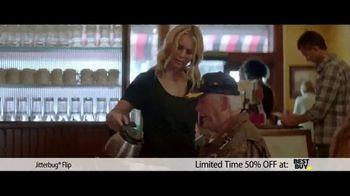 Jitterbug Flip TV Spot, 'Veteran Dad: 50 Percent'
