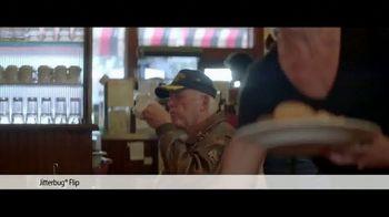 Jitterbug Flip TV Spot, 'Veteran Dad: 50%' - Thumbnail 1