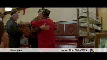 Jitterbug Flip TV Spot, 'Veteran Dad: 50%' - Thumbnail 3