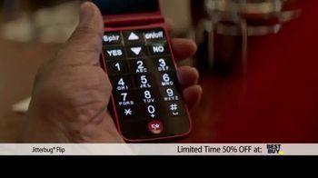 Jitterbug Flip TV Spot, 'Veteran Dad: 50%' - Thumbnail 4