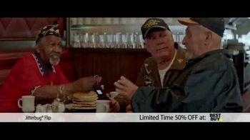 Jitterbug Flip TV Spot, 'Veteran Dad: 50%' - Thumbnail 9