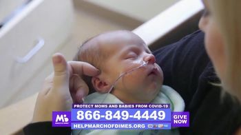 March of Dimes TV Spot, 'Mom and Baby COVID-19 Intervention and Support Fund'
