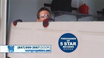 Sears Garage Door Services TV Spot, 'Repair or Replace' - Thumbnail 4