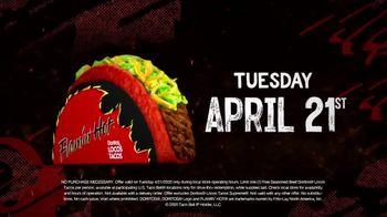 Taco Bell TV Spot, 'Free Flamin' Hot Doritos Locos Tacos' - Thumbnail 4