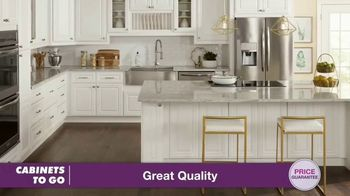 Cabinets To Go TV Spot, 'Great Quality at Great Prices: BOGO' Featuring Bob Vila - Thumbnail 3