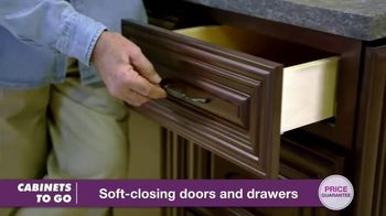 Cabinets To Go TV Spot, 'Great Quality at Great Prices: BOGO' Featuring Bob Vila - Thumbnail 6