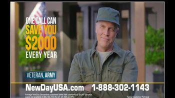 NewDay USA VA Streamline Refi TV Spot, 'One Call: All Time Low' - Thumbnail 3