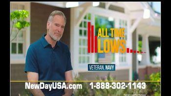 NewDay USA VA Streamline Refi TV Spot, 'One Call: All Time Low' - Thumbnail 4