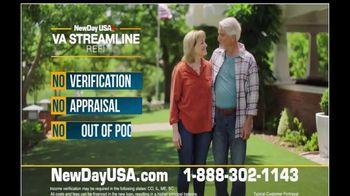 NewDay USA VA Streamline Refi TV Spot, 'One Call: All Time Low' - Thumbnail 8