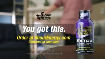 5-Hour Energy TV Spot, 'Workouts and Working From Home' - Thumbnail 6