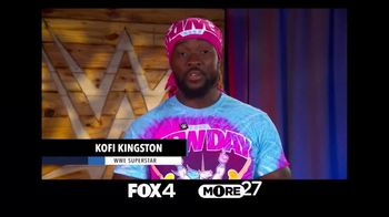Centers for Disease Control and Prevention TV Spot, 'COVID-19: WWE: Slow the Spread' Ft. Kofi Kingston