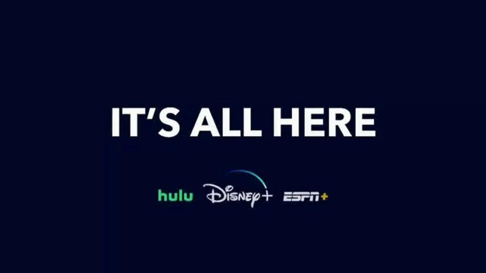 Disney+ Disney+, Hulu, ESPN Bundle TV Commercial, 'All Your Favorites'