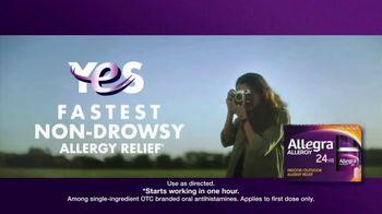 Allegra Allergy TV Spot, 'When Allergies Attack' - Thumbnail 6