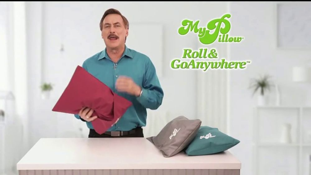 My Pillow Roll & GoAnywhere TV Commercial, 'Same Comfort and Support'