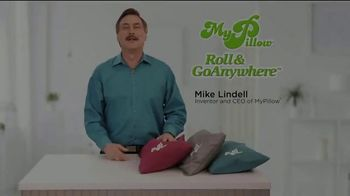 My Pillow Roll & GoAnywhere TV Spot, 'Same Comfort and Support' - Thumbnail 1