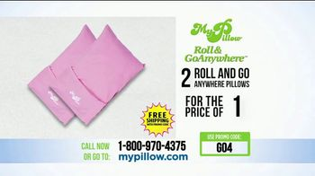 My Pillow Roll & GoAnywhere TV Spot, 'Same Comfort and Support' - Thumbnail 10