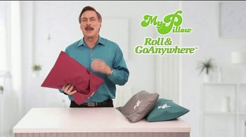 My Pillow Roll & GoAnywhere TV Spot, 'Same Comfort and Support'