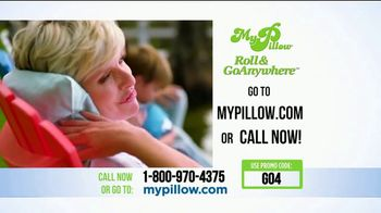 My Pillow Roll & GoAnywhere TV Spot, 'Same Comfort and Support' - Thumbnail 9