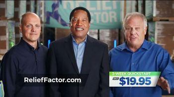 Relief Factor 3-Week Quickstart TV Spot, 'Susan' Featuring Larry Elder
