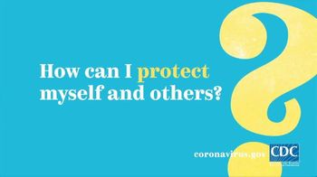Centers for Disease Control and Prevention TV Spot, 'COVID-19: Protect Yourself: General Tips'