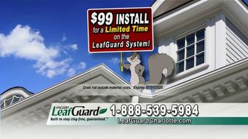 LeafGuard of Charlotte $99 Install Sale TV Spot, 'Breeding Ground' - Thumbnail 4