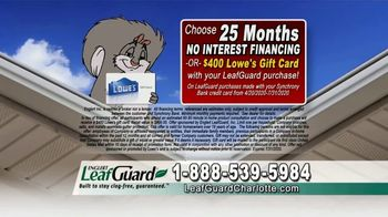 LeafGuard of Charlotte $99 Install Sale TV Spot, 'Breeding Ground' - Thumbnail 5
