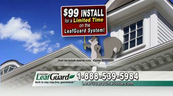 LeafGuard Charlotte $99 Install Sale TV Spot, 'Breeding Ground' - Thumbnail 5