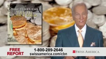Swiss America TV Spot, 'Gold and Silver' Featuring Pat Boone - Thumbnail 9