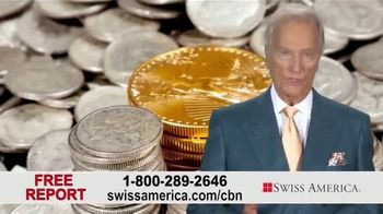 Swiss America TV Spot, 'Gold and Silver' Featuring Pat Boone - Thumbnail 8