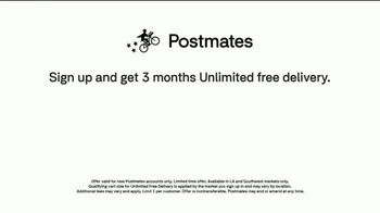 Postmates TV Spot, 'Shrimp Tacos: Unlimited Free Delivery' Featuring Martha Stewart - Thumbnail 7