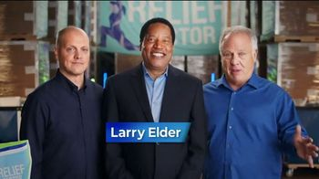 Relief Factor TV Spot, 'A Big Deal' Featuring Larry Elder